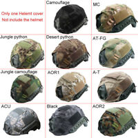new Canvas Airsoft Paintball Tactical Military Gear Combat Fast Helmet Cover 56-