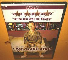 New listing Bill Murray scarlett Johansson dvd Lost In Translation sofia Coppola oscar winne