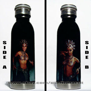 Aaliyah - Queen of the Damned Stainless Steel Water Bottle 20 oz Model #A02