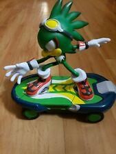 SEGA Sonic Hedgehog Free Riders JET The Hawk RC Skate Board Figure-No Remote