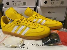 New Adidas Originals Samba OG Oyster G26699-Holdings Yellow,Sneakers Double BoxD