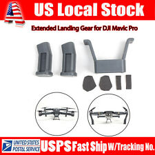 Grey Landing Gear Tripod Height Extender Accessories Kit for DJI Mavic Pro Drone