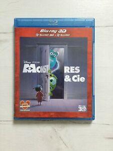 Monstres & cie - Blu-ray 3D + 2D (Disney Pixar)