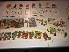 Golden Step Ahead Preschool Activity Flash Cards Shapes & Colors 53 Cards 1985