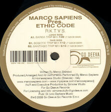 MARCO SAPIENS - R.K.T.V.S., Pres. Ethic Code - Go Deeva