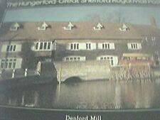 postcard unused royal mail post bus denford mill