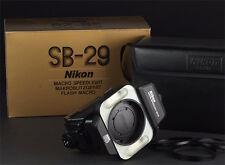 Nikon Macro Speedlight SB-29 Ring Light/Macro Flash excellent condition boxed