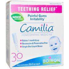 Camilia Boiron bébé dentition relief - 30 Doses uniques-UK Stock