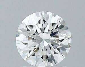 1.01 Ct Round Cut GIA Certified Lab Grown CVD Diamond E Color VS2 Clarity