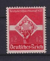 DR 572 Y waagerechte Gummiriffelung postfrisch Kurzbefund HD Schlegel (bt174)