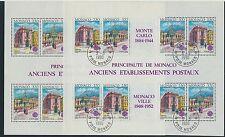 Monaco Block 47 postfrisch u. gestempelt/ Cept .................................