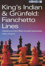 Kings Indian and Gruenfeld: Fianchetto Lines, Janjgava, Lasha, Used; Good Book