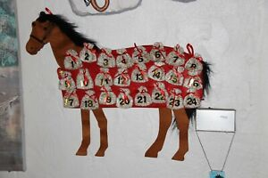 Adventskalender      Pferd         Ausverkauf !!!
