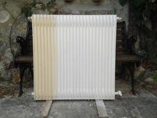 Ancien radiateur 76 x 80 x 6,5 en fer de fonte à prix serré !