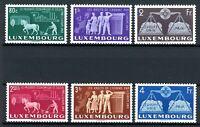 Luxemburg MiNr. 478-83 postfrisch MNH Cept Vorläufer (A0174
