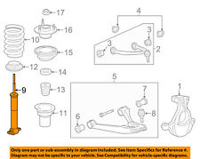 GM OEM Front Suspension-Strut 22891324