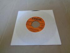 "Cliff Steward - I""m Gonna Kiss All the Babies - Coral 7"" Vinyl 45 - 1957 - VG+"