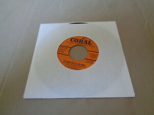 "Cliff Steward - I""m Gonna Kiss All the Babies - Coral 7"" Vinyl 45 - 1957 - VG+"