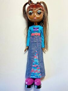 RARE VTG MATTEL 2001 Fashion Diva Starz Talking TIA  Doll 12 Inch Tested & Works