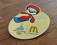 McDonalds Torino 2006 Mascot Snowboard Olympic Pin