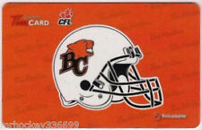 2012 BC LIONS (FD29302)  collectible Tim Hortons gift card (no cash value)