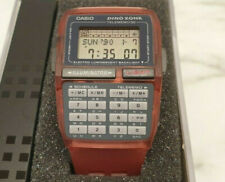 NOS CASIO DBC-63 DINOZONE TRANSPARENT 'RED JELLY' VINTAGE COLLECTIBLE