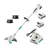 LiTHELi 40V Cordless String Trimmer w/ 2.5AH*2 Battery & Charger Adjustable Head