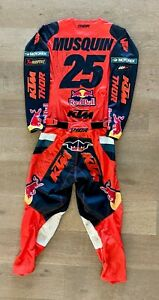 Marvin Musquin Autographed Thor Worn Jersey & Pants