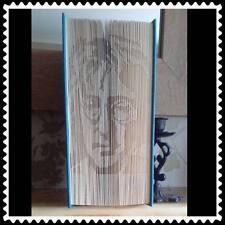 John Lennon. Folded Book Art Folding PATTERN ONLY #1234