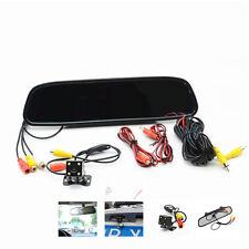 """4.3"""" LCD Color Monitor Car Reverse Rear View Mirror Night Vision Backup  Camera"""
