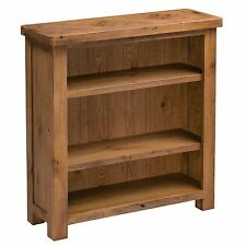 Durham oak furniture small living room office bookcase