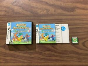 Pokemon Mystery Dungeon: Explorers of Sky (Nintendo DS) Complete -- Tested