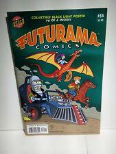 FUTURAMA COMICS (2000 Series) #55 Poster Inside Nice One