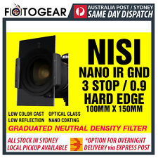 NISI IR GND 0.9 Hard Edge 100mm x 150mm Optical Glass Graduated ND Filter LEE