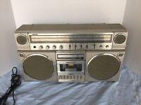 Panasonic RX-5150 Vintage Boombox/ Ghetto Blaster. ( Very Clean Condition )Radio