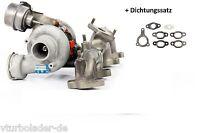 Turbolader Skoda Fabia 1.9 TDI Motor: AXR/BSW/BEW Leistung: 77 Kw  038253010H