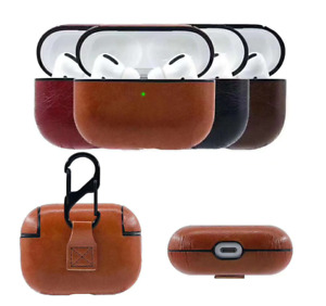 For Apple AirPods Pro Charging Case Leather Protective Cover Airpod 1/2/3 Case