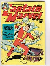 "Captain Marvel Adventures #124 ~ ""The Discarded Instincts"" 1951 (5.5) WH"