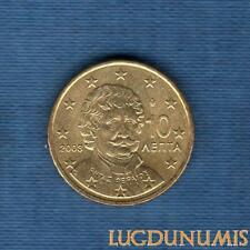 Grèce 2003 10 Centimes SUP SPL d'euro Provenant d'un rouleau - Greece