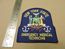 NY New York State Emergency Medical Technician EMT EMS Patch #A41