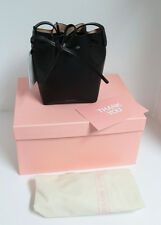 Authentic Mansur Gavriel Mini Mini Bucket Bag - Black/Ballerina - New w/Box