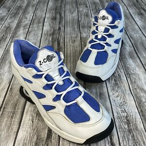 Z-Coil Orthopedic Pain Relief Tennis Shoe Blue/White Mens Size 11