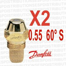 2 ugello DANFOSS S flusso 0.55 60 °S 030F6910 olio combustibile burner