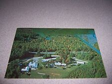 1970s AIRPLANE-VIEW BIG LYNN LODGE LITTLE SWITZERLAND NC. VTG POSTCARD
