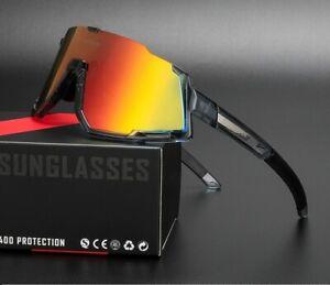 New Bike Professional Polarized Cycling Sports Sunglasses UV400 3 Lens & 5 Lens