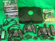 Original XBOX: Premium Bundle in Excellent Condition w/ Classic Games and Extras