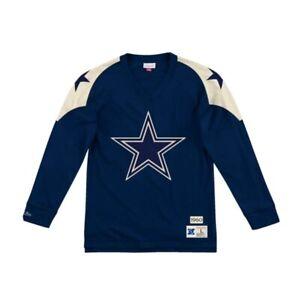 Mitchell & Ness Men's Dallas Cowboys Football Throwback Long Sleeve Sz 3XLT