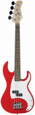 J. Reynolds JR9R 7/8 Size Electric Bass Guitar - Red