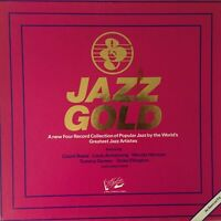 COLEMAN HAWKINS, LOUIS ARMSTRONG ETC. Jazz Gold 1980 (4-Box Set Vinyl LPs)