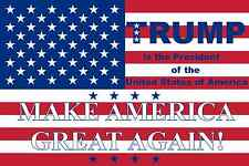 Flag Donald Trump President of the USA MAKE AMERICA GREAT AGAIN  90x135 cm NEW